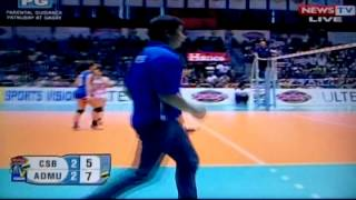 ADMU vs CSB 5TH SET