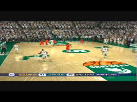 New NCAA Basketball 10 Updated for 2014 Illinois vs Michigan State