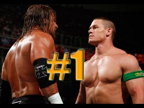 WWE Smackdown vs Raw 2010 JOHN CENA & TRIPLE H PART 1 ROAD TO WRESTLEMANIA