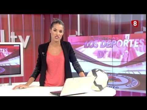 Titulares Deportes 8 Valladolid  Edición de tarde  Martes 2 9 14