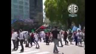 29-11-2012 Represión en movilización por la Isla Demarchi