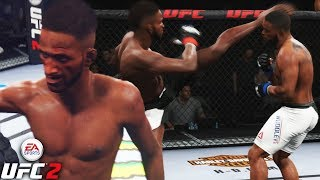 Neil Magny Is The Answer For Welterweight! Broke His Arm! EA Sports UFC 2 Online Gameplay