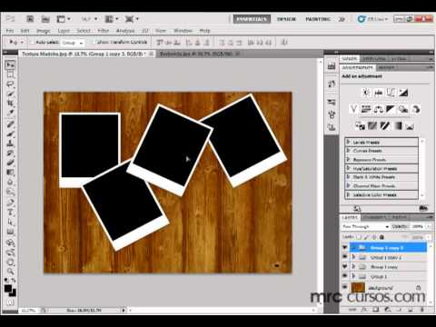 Photoshop CS5 Tutorial - Criando um conjunto de Polaroid