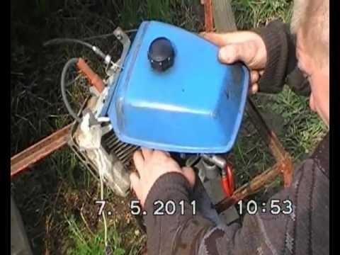 Замена двигателя на культиваторе крот своими руками
