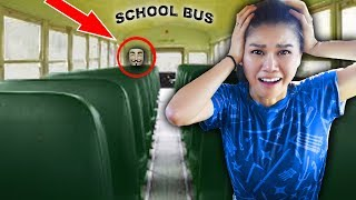 Hacker Trapped Me In Abandoned School Bus Escape Room Challenge And Mystery Clues
