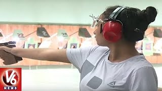 State Level Shooting Competition Begins In Hyderabad Central University