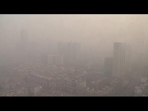 Heavy Haze Shrouds Tianjin, Hebei in N China