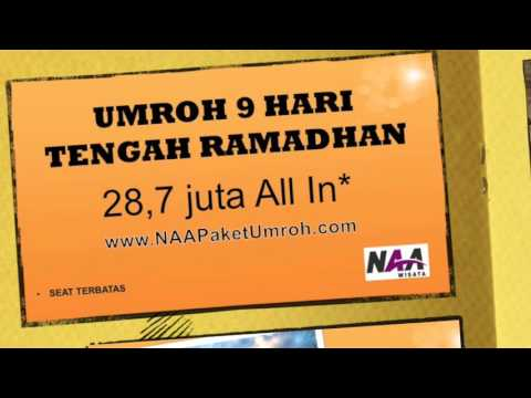 Youtube paket umroh murah ramadhan