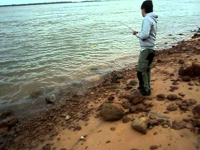 Pesca de dorado con devolucion en Empedrado (Corrientes). Baitcasting.
