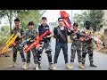 LTT Game Nerf War : Winter Warriors SEAL X Nerf Guns Fight Rocket Man Traitor