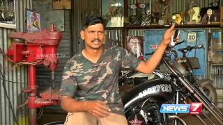 Amazing styles of bikes from this Kovai mechanic | News7 Tamil