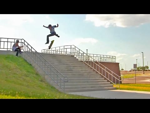 17 Stair Hardflip Attempts!?!