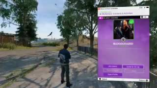 How to join and invite friends - Watch dogs 2 Online Co Op