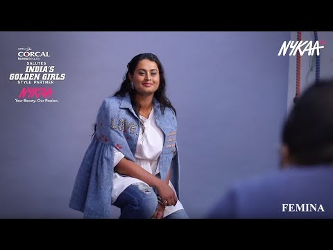 "Nykaa partners with ""Femina Shoot with India's Golden Girls"""