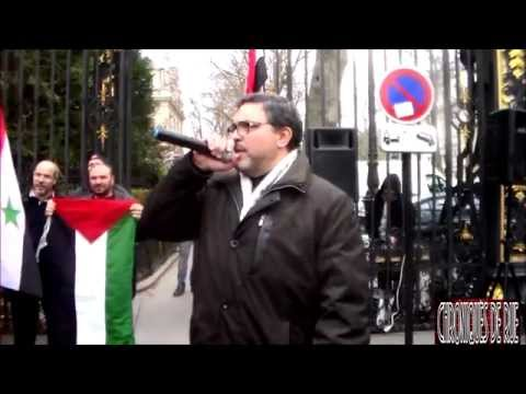 l'Arabie saoudite finance le terrorisme :manifestation devant l'ambassade 04/04/15