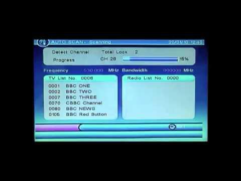 Neostar Mini Scart Freeview Digital TV Receiver & Recorder