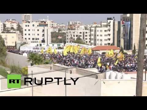 State of Palestine: Thousands rally in memory of Yasser Arafat