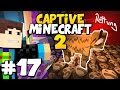 Captive Minecraft 2 #17 - DIE GROßE KUHRETTUNG :D    Captive Minecraft 2