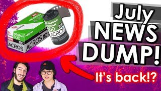 Fujifilm ACROS 100 Could Come Back! + New Nikon Mirrorless + More | July Photography News Dump 2018