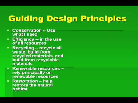 Green Building Design Principles - YouTube
