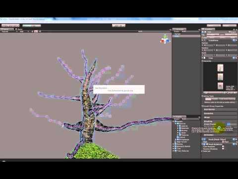 Урок по Unity 3d #4 (Как установить Паки (текстуры ,деревья и всякие плюшки) на tubethe.com