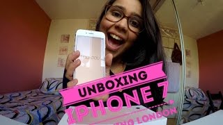 ABRINDO o IPHONE 7 { UNBOXING + COMO ISSO ACONTECEU) || Nay Taking London