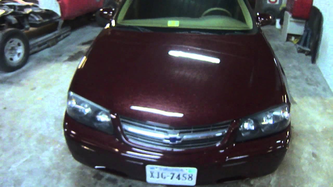 Impala 2000 Custom 2000 Chevy Impala Color Change
