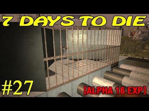 7 Days to Die Alpha 16 ► Начало строительства ► №27 (16+)