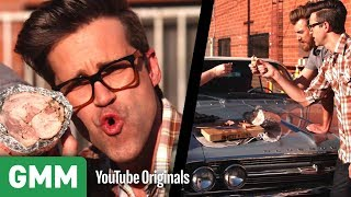 Cooking A Turkey on a Car Engine by : Good Mythical Morning