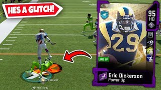 ERIC DICKERSON BREAKING ANKLES & TRUCKING EVERYONE! MADDEN 20 ULTIMATE TEAM