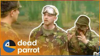 Battles | Spaced | Series 1 Episode 4 | Dead Parrot