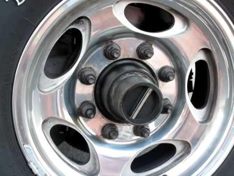 1998 ford ranger manual locking hubs