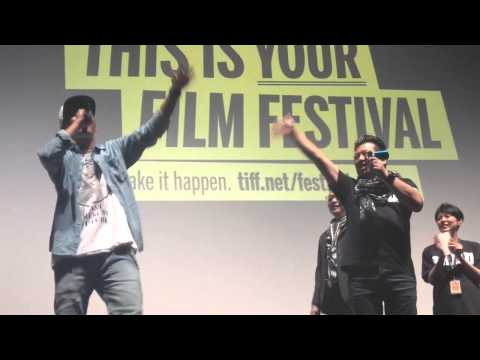 Japanese rapper Young Dais does Drake - clip from Tokyo Tribe intro - Toronto film fest
