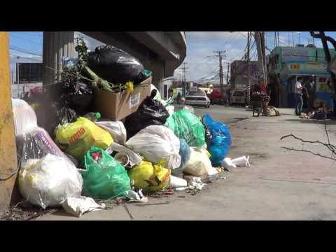 Basura en Santo Domingo Norte