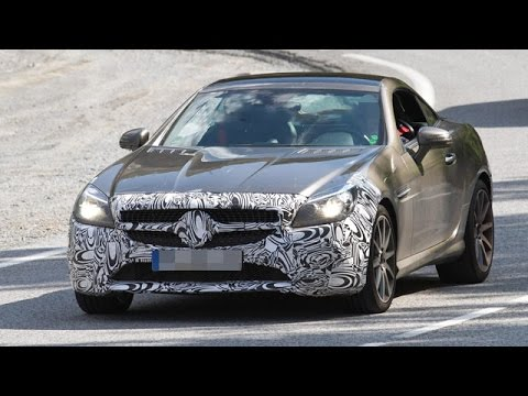 2016 Mercedes Benz SLC 450 AMG Sport Spotted First Time