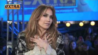 Jennifer Lopez  The Babies Are the Light of My Life   Extra Interview With Mario Lopez