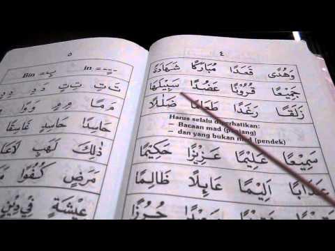 Panduan Membaca Iqra 4 (m s 3-5) video