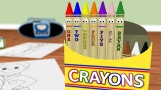 Counting Crayons: Learn Numbers 1-10