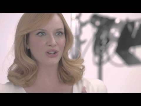 Christina Hendricks Shifts a Shade Blonder in Her Latest Role as nice'n easy Ambassador