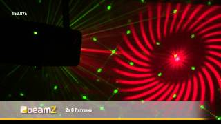 BeamZ LS-RG11 Laser Red Green Gobo DMX 152.876