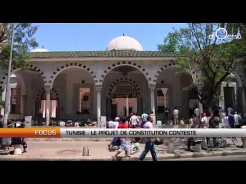 Tunisie : Le projet de constitution contesté