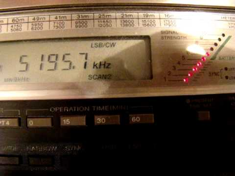 DRA5 German Ham Radio beacon, received in Graz, Austria