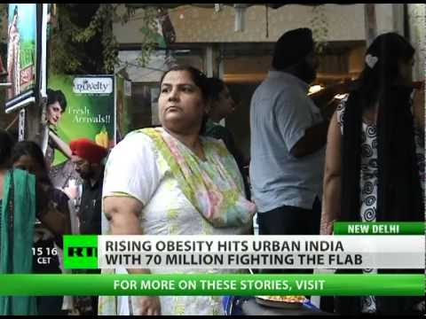 India: Fighting obesity in land of starvation