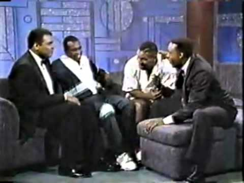 MUHAMMAD ALI & MIKE TYSON INTERVIEW