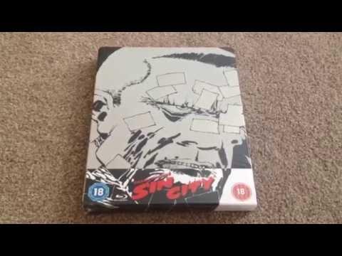 Sin city UK Blu-ray steelbook unboxing (Zavvi exclusive)
