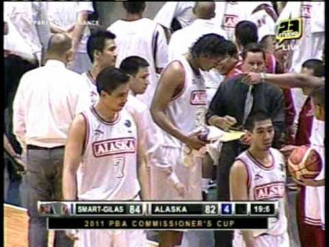 PBA 2011 Comm  Cup:  LA Tenorio Blows By Smart Gilas