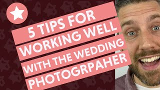 How the Wedding Officiant Can Work Well with the Wedding Photographer (5 Tips!)