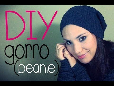 DIY haz tu propio gorro / DIY cute Beanie ♥ Nancy♥