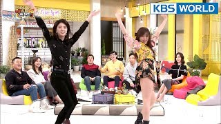 Teacher & pupil's dance collaboration…Same dance but different vibe? [Happy Together/2018.01.25]
