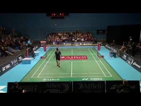 AJ Bell National Badminton League LIVE : Surrey Smashers v  Loughborough Sport